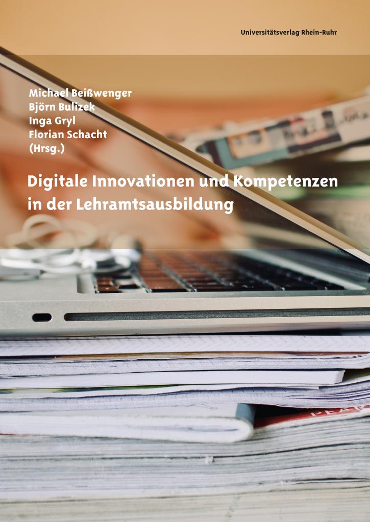 """Title page of the book """"Digitale Innovationen und Kompetenzen in der Lehramtsausbildung"""""""